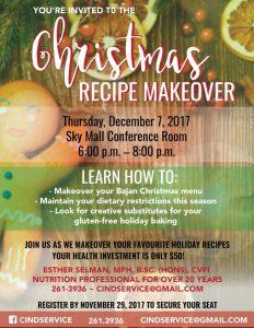 Christmas Recipe Makeover