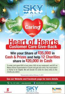 Sky Mall Heart of Hearts