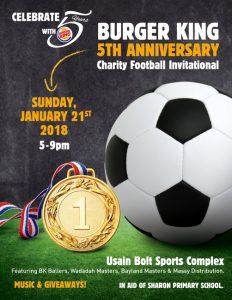Burger King 5th Anniversary Football Match