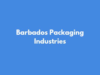 Barbados Packaging Industries