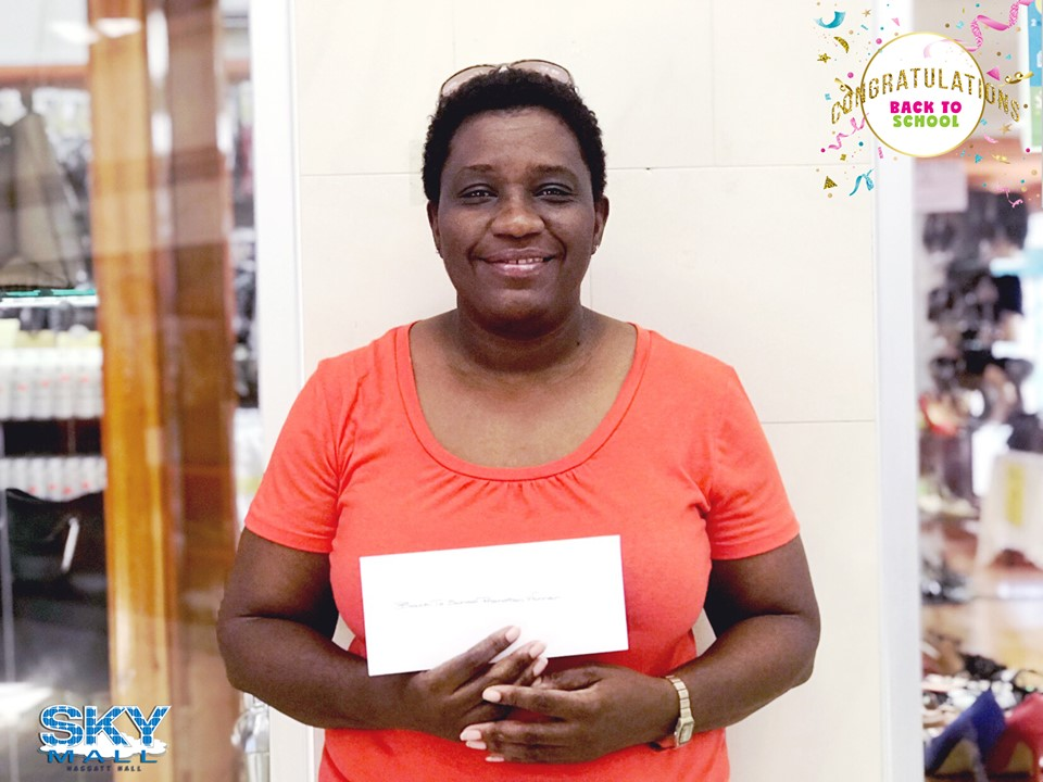 CONGRATULATIONS to our grand prize winner Laverne Riley-Carter