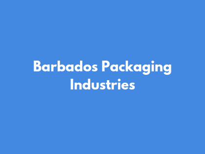 Barbados Packaging Industries