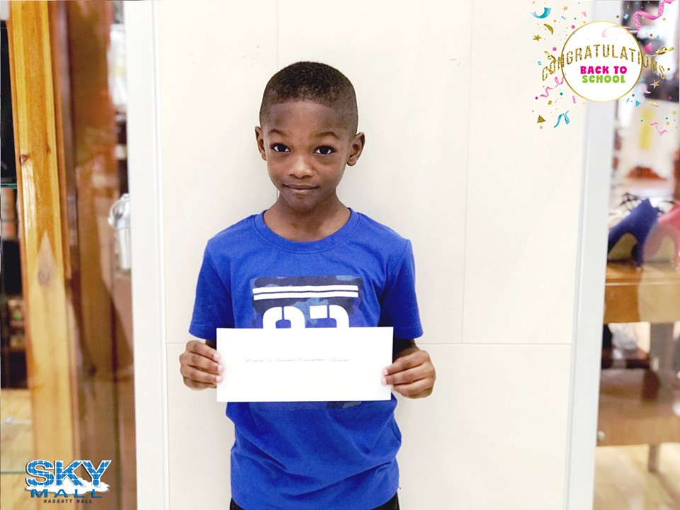 CONGRATULATIONS to our grand prize winner Trey Walcott